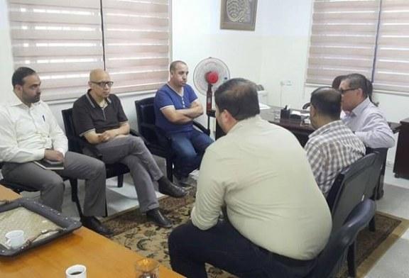 الادارة العامة للتدريب المهني تستضيف ممثل مؤسسة صلتك القطرية