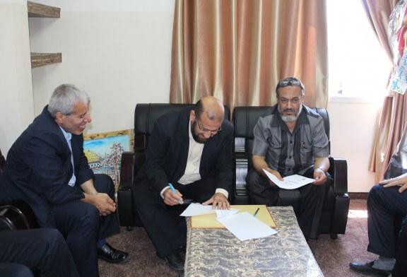 وزارة العمل توقع اتفاقية تشغيل مع نقابة المهندسين