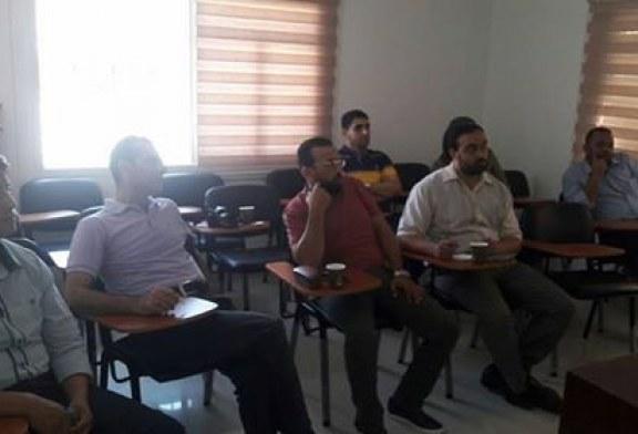 وفد من الوكالة السويسرية ومؤسسة الاغاثة الاسلامية يزور مكتب تشغيل مديرية عمل غزة