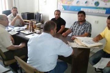 الإدارة العامة للتعاون تلتقي الإدارة العامة لأملاك الحكومة في سلطة الأراضي