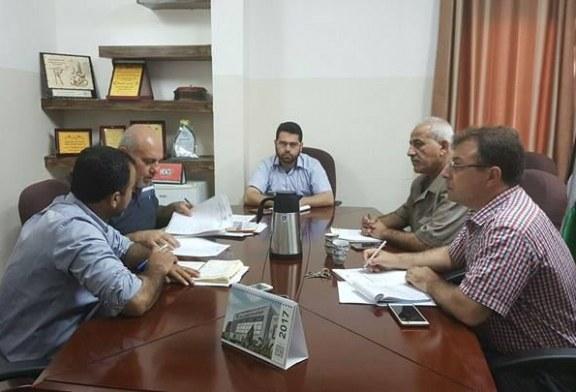 لجنة دليل اجراءات وخدمات الوزارة تعقد اجتماعها الدوري