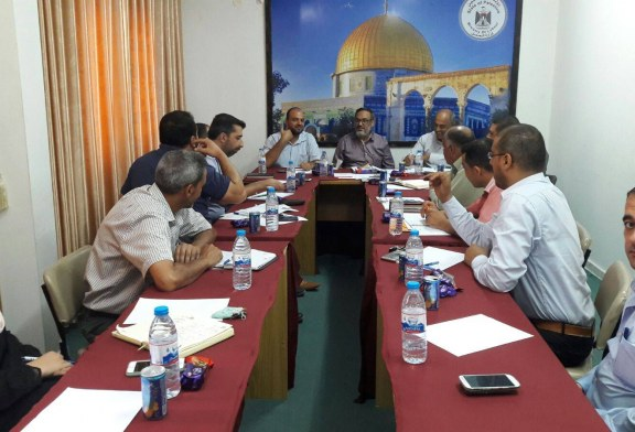 لجنة السياسات العمالية تجتمع بممثلي الوزارات
