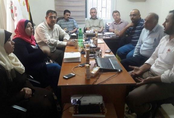 اجتماع لجنة الجودة وتطوير دليل اجراءات مراكز التميز