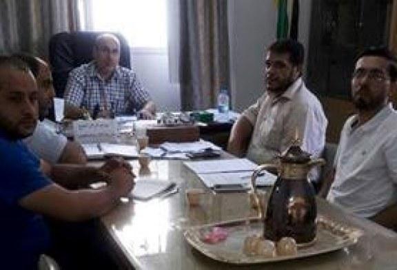 التعاون يعقد الاجتماع الدوري مع رؤساء الأقسام