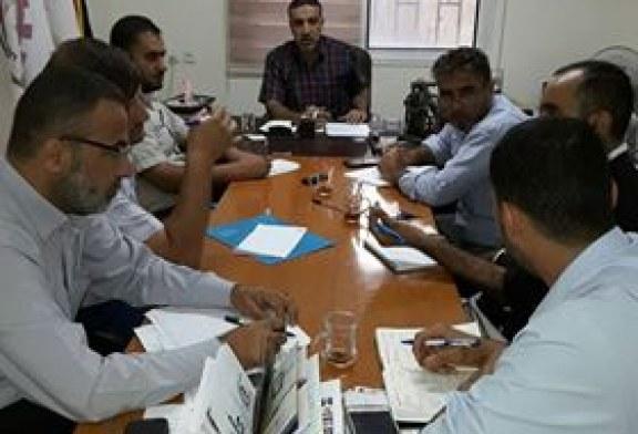 الادارة العامة للتدريب المهني تجتمع مع مدراء المراكز
