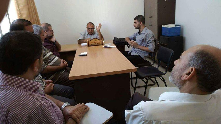 مديرية عمل الشمال تشارك في اجتماع لجنة السلامة والصحة المهنية