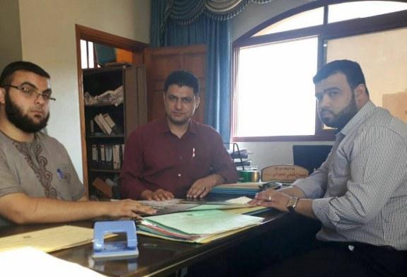 مديرية عمل الشمال تلتقى الوعظ والارشاد بمديرية أوقاف محافظة الشمال