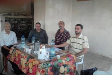 مديرية عمل غزة تشارك في اجتماع الهيئة العمومية لجمعية غزة المحروسة التعاونية