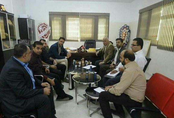 اللجنة الفنية للسلامة والصحة المهنية بمحافظة الوسطى تقوم بزيارات ميدانية لبلديات الوسطى