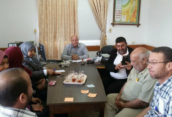 مديرية محافظة الوسطى تستقبل وفدا من جبهة العمل النقابي التقدمية