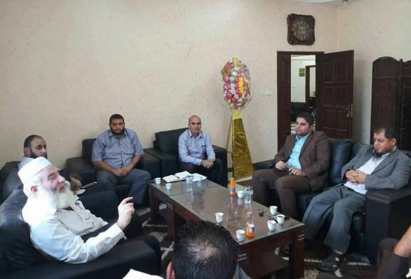 مكتب التشغيل بمديرية رفح يزور الكلية العربية للعلوم التطبيقية