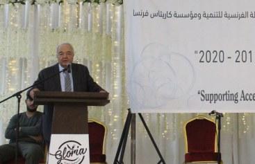 خلال اطلاق مشروع لدعم تشغيل الخريجين الوزير أبو شهلا يؤكد على ضرورة الاهتمام بتنفيذ المشاريع التنموية والتشغيلية
