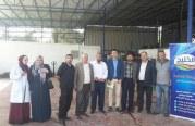 اللجنة الفنية للسلامة والصحة المهنية في المحافظة الوسطى تنفذ عدة جولات تفتيشية على مصانع مواد غذائية