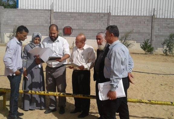 اللجنة الفنية للسلامة والصحة المهنية في محافظة رفح تنفذ جولات تفتيشية على محطات الغاز