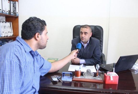 ضمن سياسة ترويج وتسويق خدمات الوزارة لقاءات اذاعية على اذاعة الراي الفلسطينية