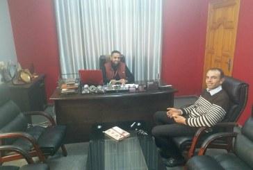 مدير ية عمل محافظة شمال غزة تستقبل إدارة مركز سما شباب لبحث التعاون المشترك