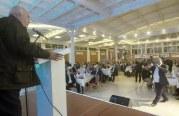 """الوزير أبو شهلا يفتتح فعاليات أسبوع فلسطين التكنولوجي الرابع عشر """"اكسبوتك"""""""