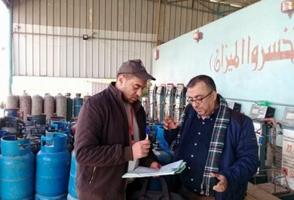 مديرية عمل الوسطى تنفذ سلسلة زيارات رقابية وتفتيشية في المحافظة