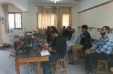 مركز تدريب دير البلح يخرج 115 طالب في الدورات التدريبية القصيرة