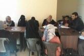 قسم التعاون بمديرية عمل خانيونس يتابع عمل جمعية رفح التعاونية الزراعية