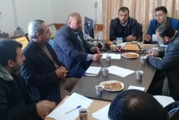 مديرية عمل الوسطى تعقد الاجتماع الاول للجنة السلامة والصحة المهنية بالمحافظة