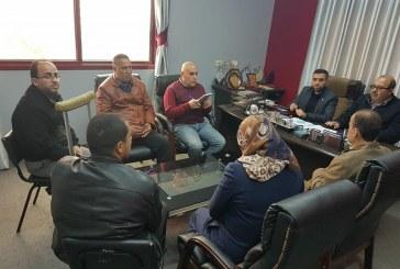مديرية عمل الشمال تستقبل وفداً من ائتلاف الناشطين لتبني قضايا ذوي الاعاقة