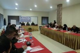وزارة العمل تنظم دورة تدريبية لكوادرها بعنوان تمكين أصحاب الواجب في وزارة العمل لحماية الحقوق الاقتصادية والاجتماعية