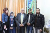 الوزير أبو شهلا يلتقي ممثلين عن الخريجين ويبحث معهم سبل تحسين أوضاعهم
