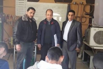 مديرية محافظة الشمال تزور مركز الرازي للتعليم والتدريب