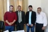 مديرية محافظة الوسطى تستقبل وفدا من جمعية الشباب والبيئة