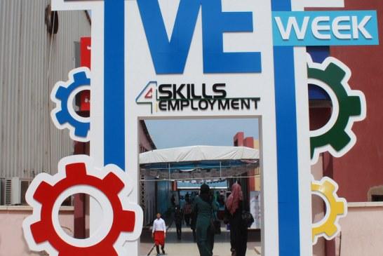 تحت رعاية معالي وزير العمل: العمل تشارك في فعاليات اسبوع التدريب والتعليم المهني والتقني الرابع