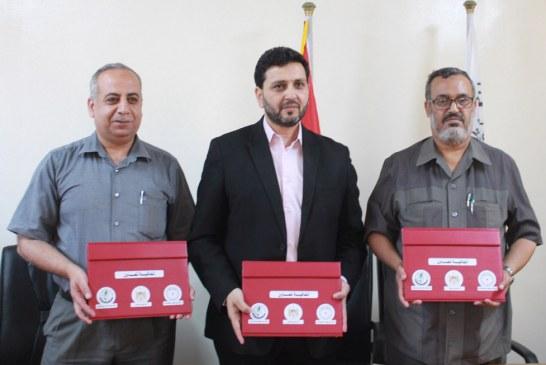 وزارة العمل وشركة توزيع كهرباء محافظات غزة توقعان مذكرة تفاهم حول تبادل البيانات
