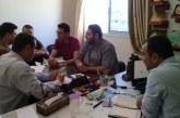 مديرية عمل المحافظة الوسطى تعقد اجتماعها الدوري للجنة الصحة والسلامة المهنية