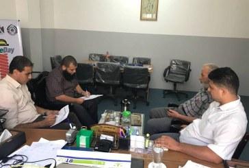 اللجنة الوطنية للسلامة والصحة المهنية تناقش خطة عمل اللجان الفنية للسلامة والصحة المهنية مع وزارة التربية والتعليم العالي