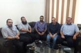 الادارة العامة للتعاون الدولي والعلاقات العامة تزور مؤسسة الرحمة العالمية غزة