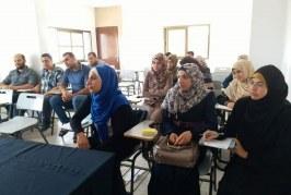 مديرية الشمال تنفذ دورة تدريبية ضمن برنامج تحسين فرص تشغيل الشباب 2018