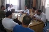 هيئة العمل التعاوني وسلطة الاراضي يجتمعون من اجل دراسة اوضاع جمعية العاملين في الجامعات الاسكانية