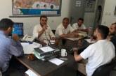 هيئة العمل التعاوني وسلطة الاراضي يعقدان اجتماعهما الاول