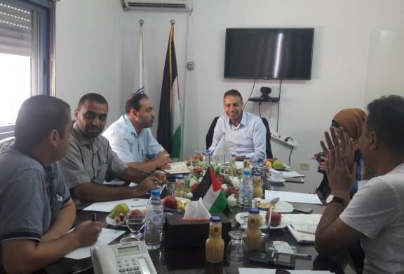 إدارة العلاقات العامة والتعاون الدولي والدائرة القانونية تزور الهيئة المستقلة لحقوق الانسان