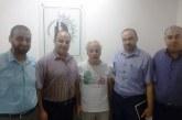 إدارة العلاقات العامة والتعاون الدولي تزور المركز الفلسطيني لحقوق الإنسان