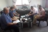 مديرية الشمال وبدعم من الصليب الأحمر توقع عقود عمل مع بلدية بيت لاهيا